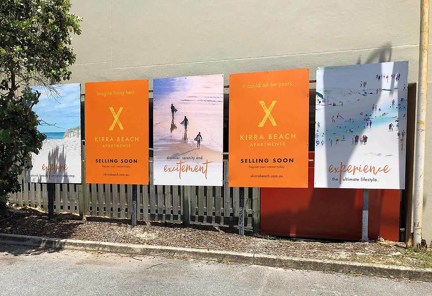 X Kirra Beach - Signage by Small & Co