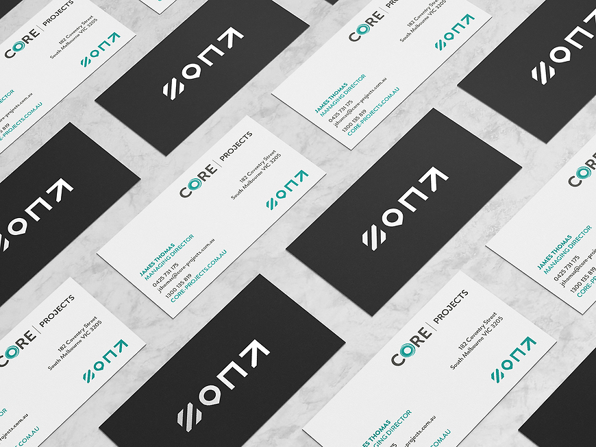 Core Projects - Business Cards