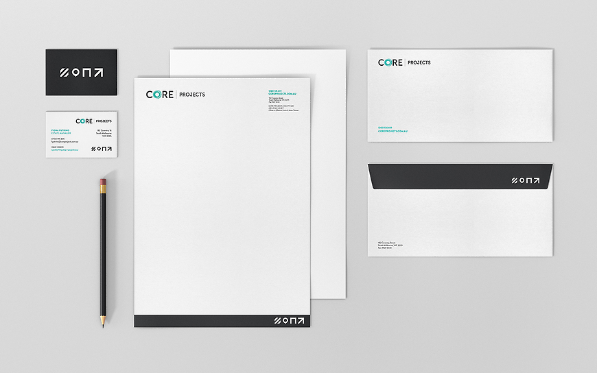 Core Projects - Corporate Stationery