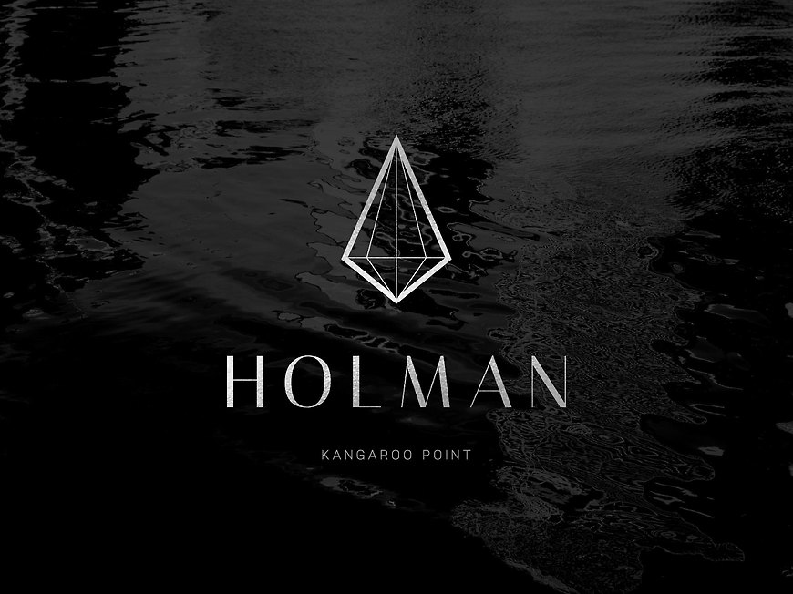 Holman, Kangaroo Point Apartments - Branding by Small & Co