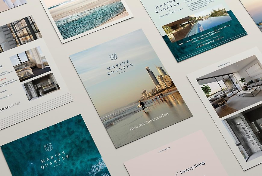 Marine Quarter, Southport Apartments - Inclusions Booklet, Investor Flyer by Small & Co