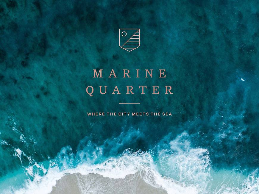 Marine Quarter, Southport Apartments - Branding by Small & Co