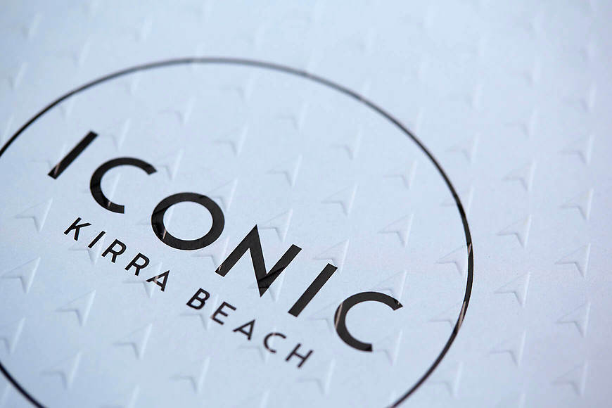 Small and Co Portfolio, Iconic Kirra Beach Brochure Cover