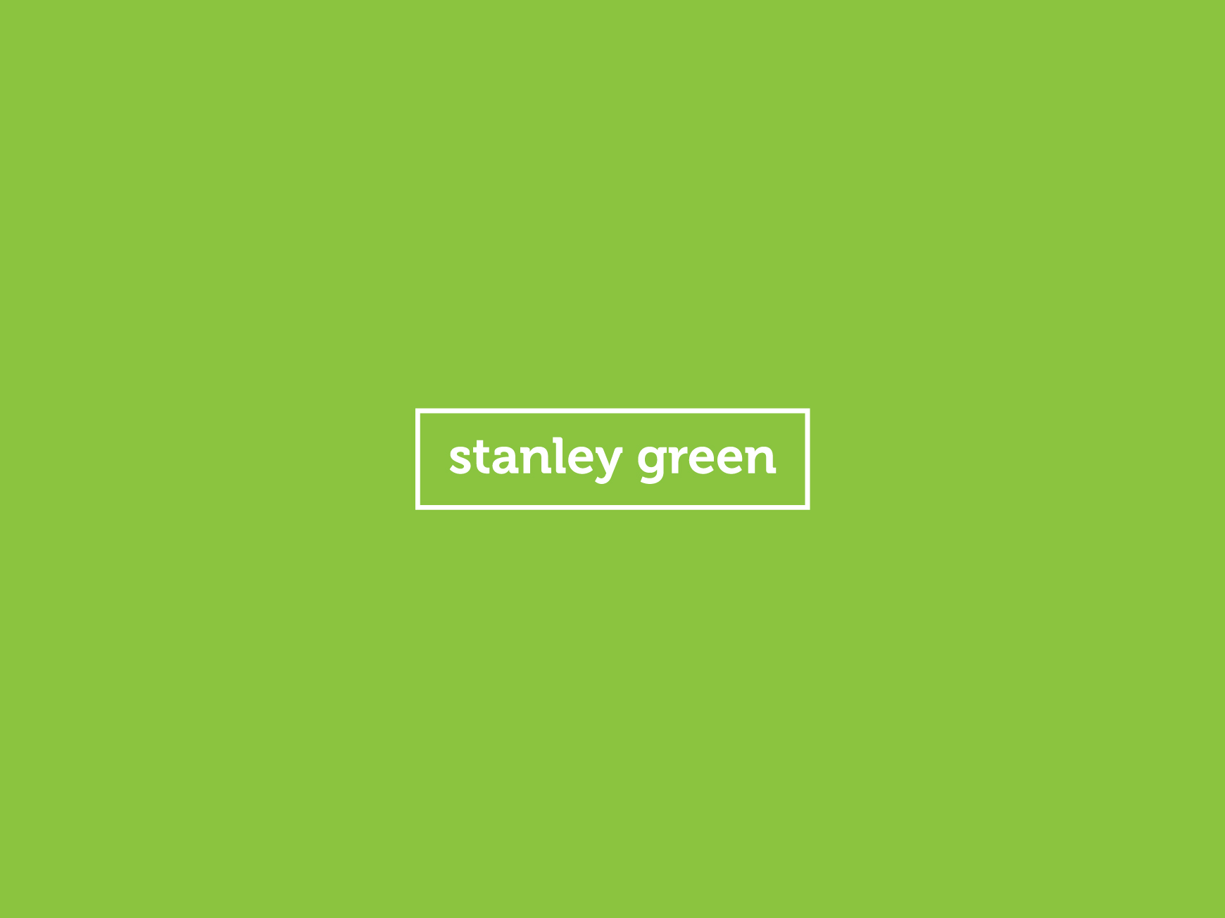 Small and Co Portfolio, Stanley Green - Logo